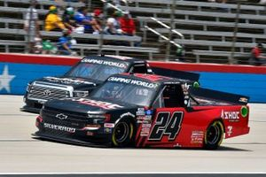Chase Elliott, GMS Racing, Chevrolet Silverado Adrenaline Shoc, Chandler Smith, Kyle Busch Motorsports, Toyota Tundra Safelite AutoGlass