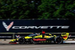 Ed Jones, Dale Coyne Racing with Vasser Sullivan Honda