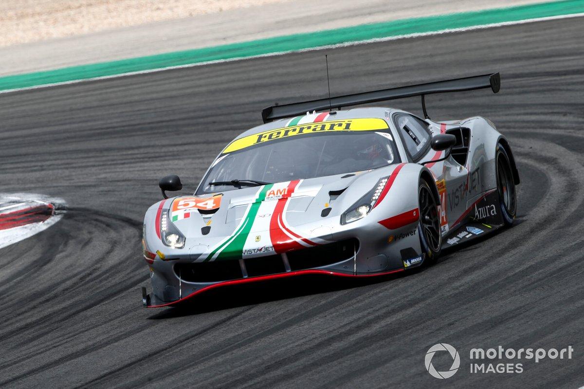 #54 AF Corse Ferrari 488 GTE EVO: Thomas Flohr, Francesco Castellacci, Giancarlo Fisichella
