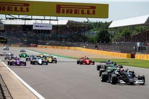 Start der W-Series 2021 in Silverstone