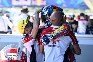 Ganador Fabio di Giannantonio, Federal Oil Gresini Moto2