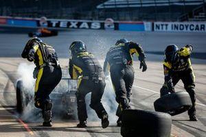Colton Herta, Andretti Autosport Honda pit stop