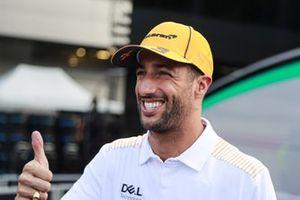 Daniel Ricciardo, McLaren speaks to the media