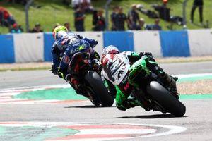 Andrea Locatelli, PATA Yamaha WorldSBK Team, Lucas Mahias, Kawasaki Puccetti Racing
