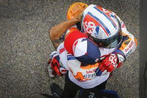Ganador Marc Márquez, Repsol Honda Team celebra