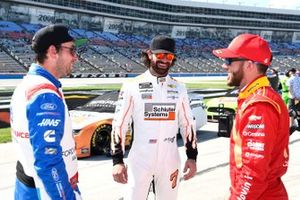 Chase Briscoe, Stewart-Haas Racing, Ford Mustang Ford Performance Racing School, Corey LaJoie, Spire Motorsports, Chevrolet Camaro Schluter Systems, Ross Chastain, Chip Ganassi Racing, Chevrolet Camaro McDonald's