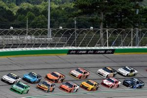Kyle Busch, Joe Gibbs Racing, Toyota Supra Extra Gum bands A.J. Allmendinger, Kaulig Racing, Chevrolet Camaro Hyperice