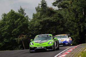 #75 Porsche Cayman GT4 CS: Horst Baumann, Kai Riemer
