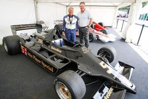 1978 Lotus 79, Mario Andretti with Zak Brown, CEO, McLaren Racing