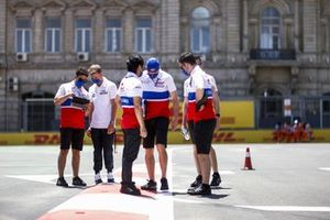 Mick Schumacher, Haas F1 walks the track