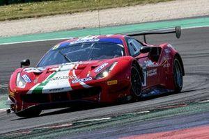 #8 AF Corse, Ferrari 488 GT3 Evo: Antonio Fuoco, Sean Hudspeth