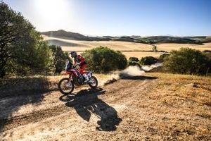 #88 Monster Energy Honda Team Honda CRF450 Rally: Joan Barreda Bort