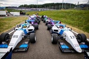 The cars of Beitske Visser and Ayla Agren