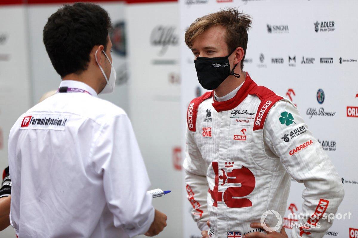 Callum Ilott, piloto de pruebas y reserva de Alfa Romeo Racing