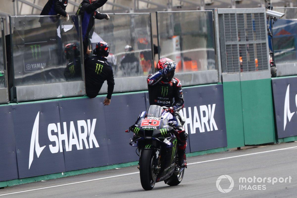 Terzo classificato Fabio Quartararo, Yamaha Factory Racing