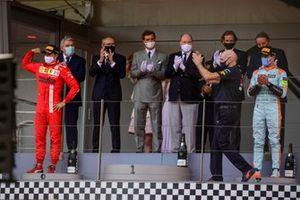 Carlos Sainz Jr., Ferrari, Max Verstappen, Red Bull Racing, Lando Norris, McLaren