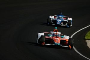 James Hinchcliffe, Andretti Steinbrenner Autosport Honda, Tony Kanaan, Chip Ganassi Racing Honda