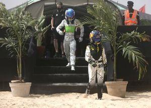 Stephane Sarrazin, Veloce Racing, Mikaela Ahlin-Kottulinsky, JBXE Extreme-E Team