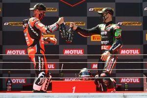 1. Scott Redding, Aruba.It Racing - Ducati, 3. Jonathan Rea, Kawasaki Racing Team WorldSBK
