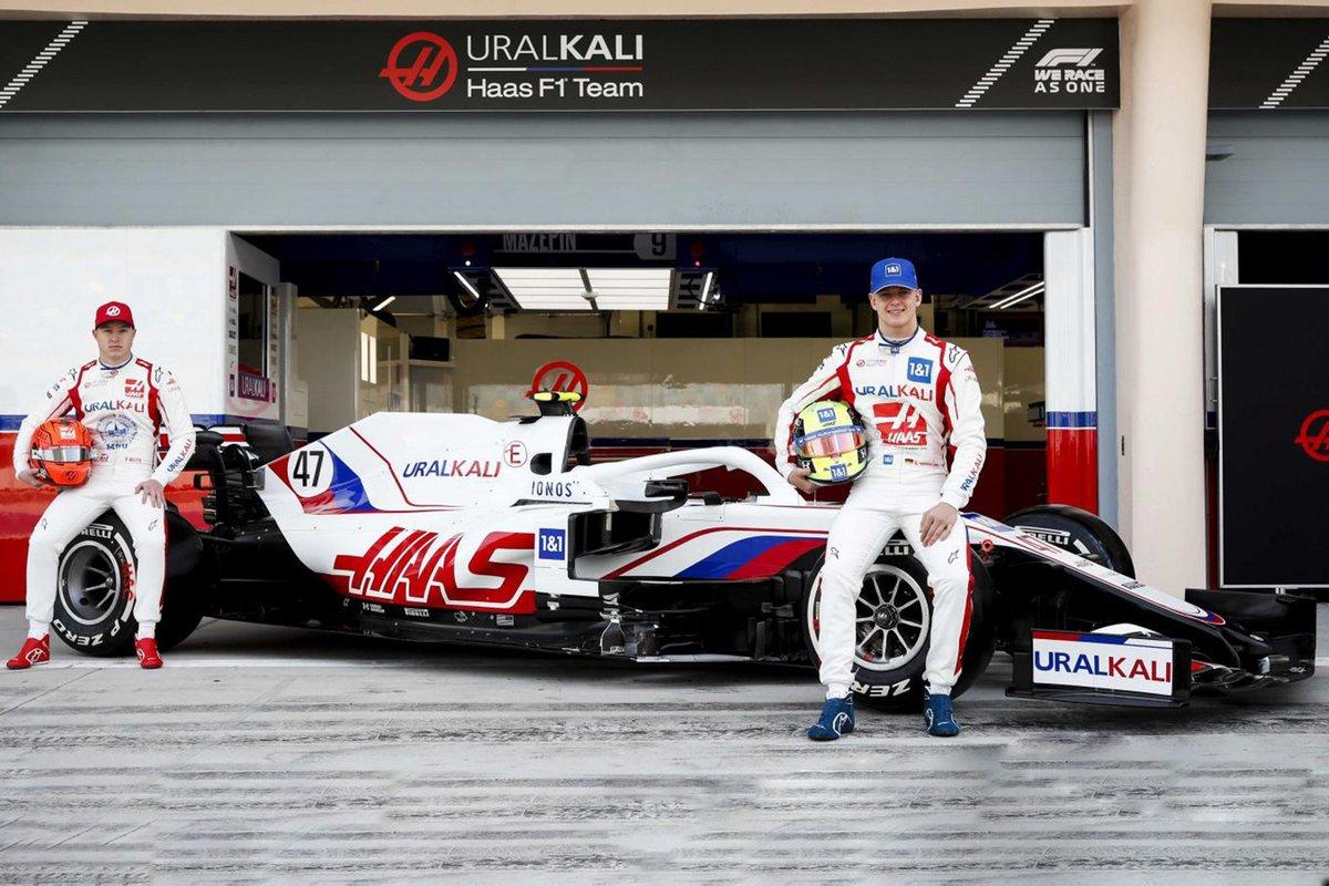 Mick Schumcher, Nikita Mazepin, Haas F1 Team