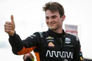 Pole award winner: Patricio O'Ward, Arrow McLaren SP Chevrolet