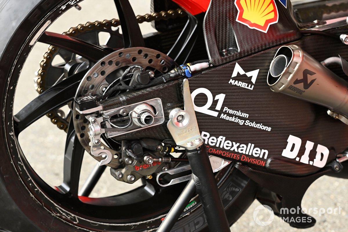 La moto de Ducati
