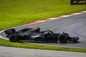 Valtteri Bottas, Mercedes F1 W11 spins