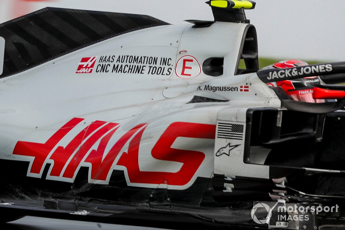 Haas VF-20 side detail