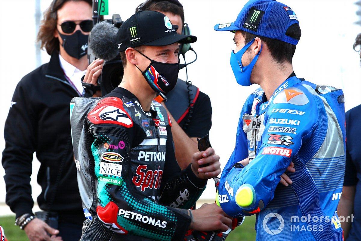 Fabio Quartararo, Petronas Yamaha SRT, Joan Mir, Team Suzuki MotoGP
