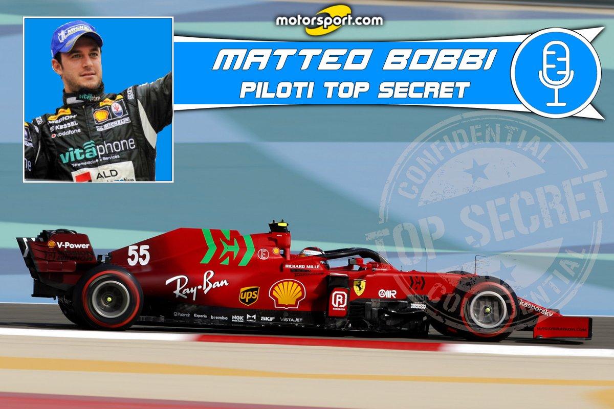 "Cover ""Matteo Bobbi - Piloti Top Secret"": Carlos Sainz"