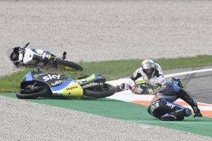Incidente di Celestino Vietti Ramus, Sky Racing Team VR46 e Alonso Lopez, Max Racing Team