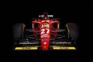 La Ferrari 412 T2 della stagione 1995