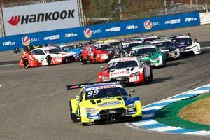 Mike Rockenfeller, Audi Sport Team Phoenix, Audi RS 5 DTM, leads