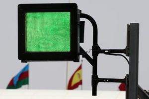 FIA homologated light panel