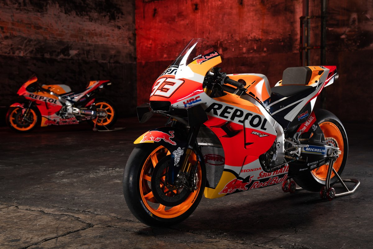 Moto di Marc Marquez, Repsol Honda Team, Pol Espargaro, Repsol Honda Team