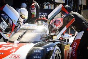 #8 Toyota Gazoo Racing Toyota GR010 - Hybrid: Kazuki Nakajima