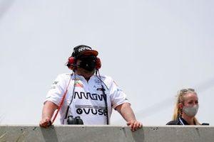 Patricio O'Ward, Arrow McLaren SP Chevrolet spotter