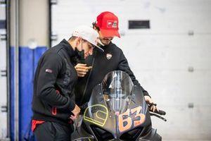 Jorge Martin, Pramac Racing, Francesco Bagnaia, Ducati Team