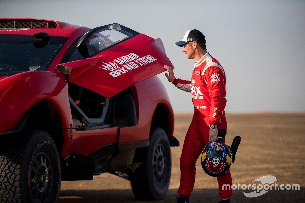 La voiture de Bahrain Raid Xtreme avec Sebastien Loeb