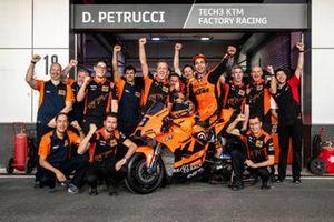 Danilo Petrucci, with the team