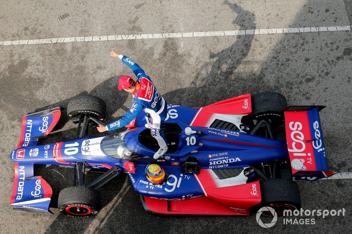 Ganador Alex Palou, Chip Ganassi Racing Honda