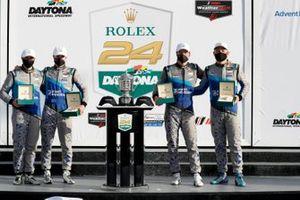 Race Winner #57 Winward Racing Mercedes-AMG GT3, GTD: Russell Ward, Philip Ellis, Indy Dontje, Maro Engel