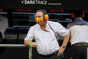 Zak Brown, PDG, McLaren Racing