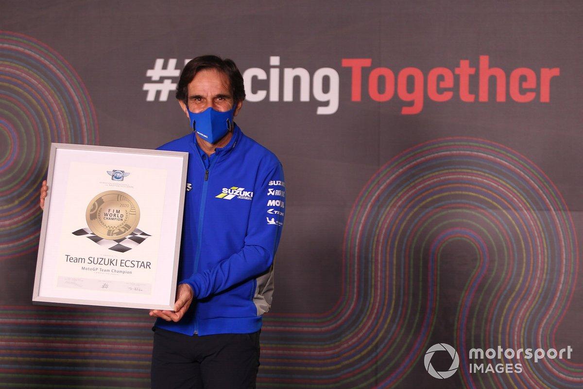 Davide Brivio, team manager de Suzuki MotoGP