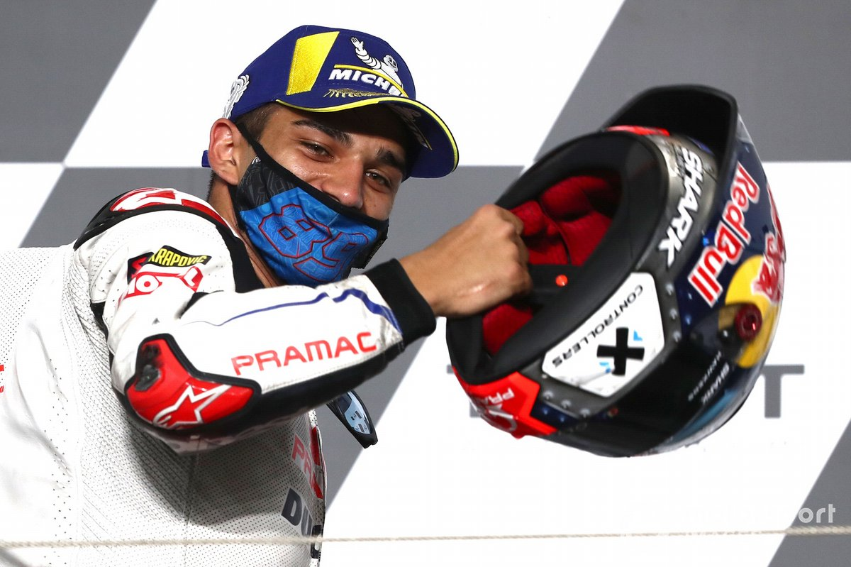 Podio: tercer lugar Jorge Martín, Pramac Racing