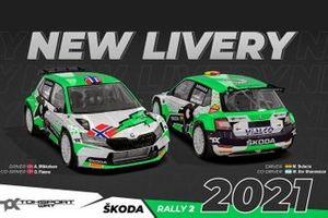 Toksport WRT Skoda Motorsport Fabia Rally2 Evo