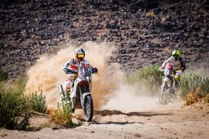 #93 Caravanserraglio Rally Racing Team KTM: Piolini Lorenzo