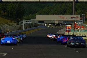 La griglia di partenza di Gara1