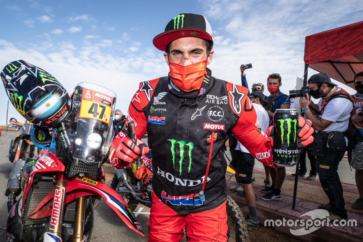 Ganador #47 Monster Energy Honda Team: Kevin Benavides