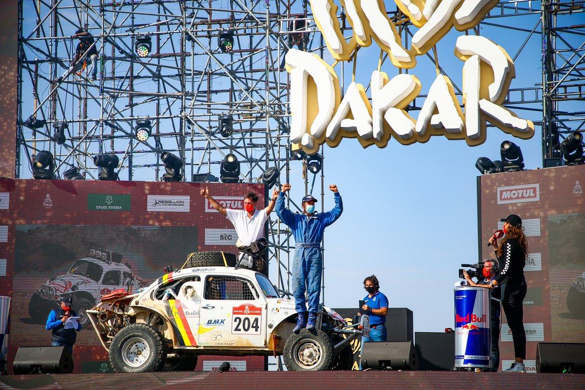 #204 Racing Wings Volkswagen: Benoit Callewaert, Ghislain Morel